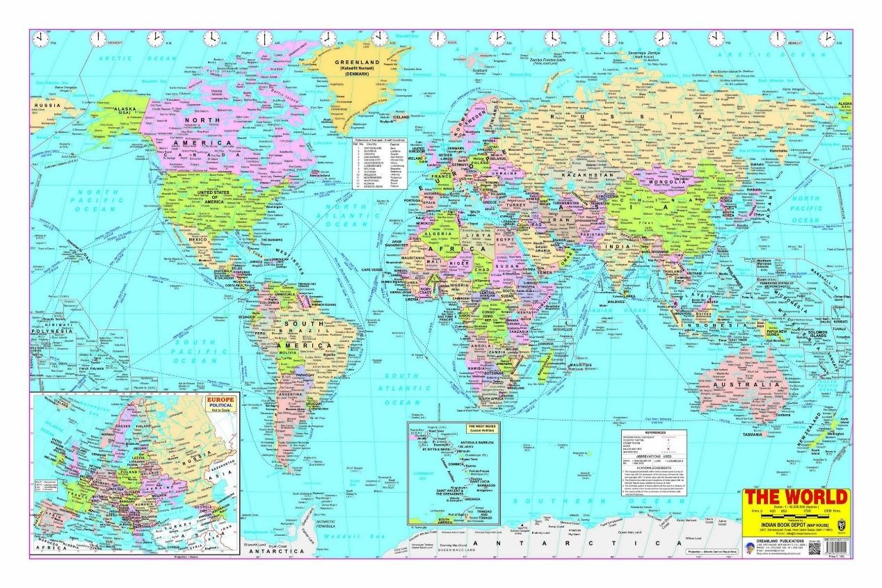 外国使用的中国地图为什么大多有错?