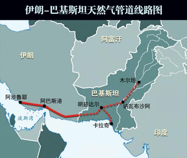 美媒:中国将帮助建设伊朗至巴基斯坦输气管道图片